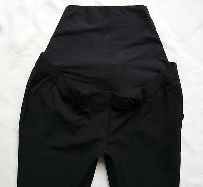 BNWT NEXT NEW maternity navy smart bootcut work office trousers Size 12 R 18 R