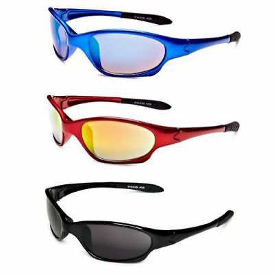 Kids (Boys / Girls) Wrap Around Comfort Fit Sports Sunglasses For 3 -10 Years