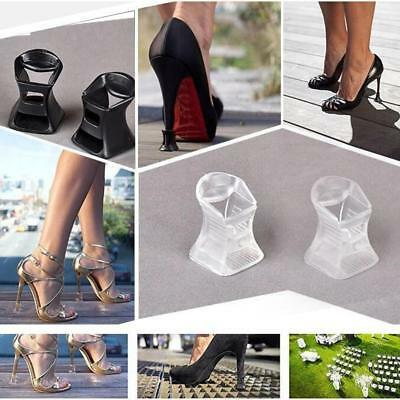 10pairs High Heel Silicone Protectors Covers Stiletto Women Stoppers Antislip AC