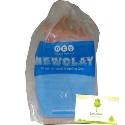 Newclay - Terracotta Air Hardening Clay - Bulk Sizes - 12.5kg+