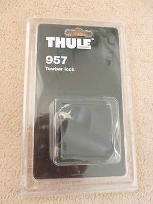 Thule Lock 957 for HangOn, RideOn, EasyBase Rear Cycle Carriers Bike Security