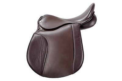 """Gallop All Purpose Leather Saddle ,affordable  in medium or ex wide fit  14""""-18"""""""