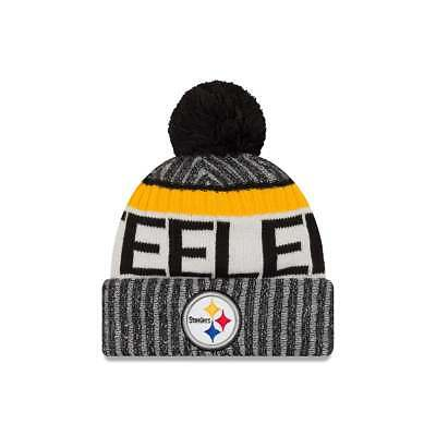 New Era NFL Pittsburgh Steelers 2017 Sideline Sport Knit