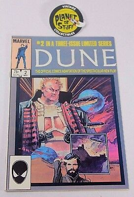 Marvel Dune #2 of 3 May 1985 Official Comics Adaptation Limited Series Comic