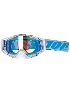 100 Percent Hyperloop-Mirror Blue Racecraft MX Goggle