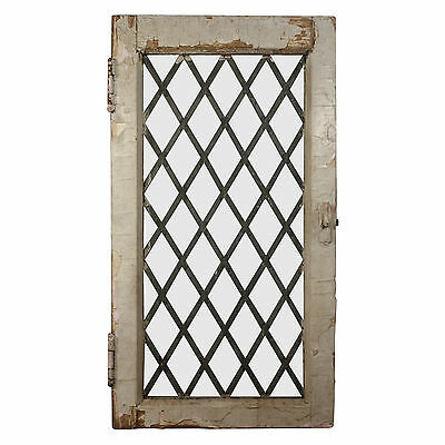 Antique American Leaded Glass Window, Early 1900s, NLG179