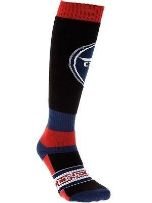 ONeal Black-Blue-Red 2018 Pro Afterburner MX Socks