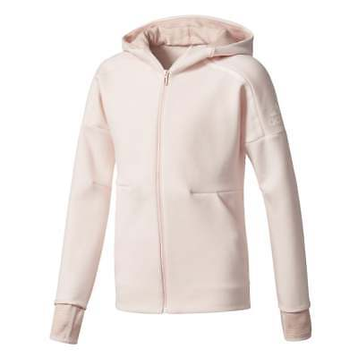 adidas Little Girls ZNE 2Pulse Full Zip Hoodie