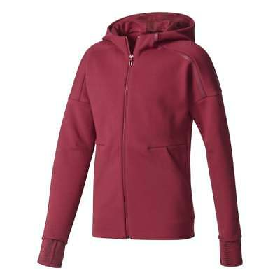 adidas Little Girls ZNE 2 Pulse Full Zip Hoodie
