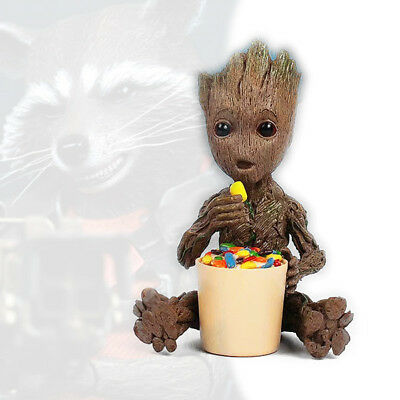 Eating Sugar Baby Groot Candy Box Guardians of the Galaxy 2 Figure Figurine
