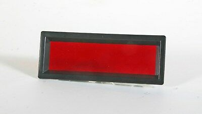"""Display Bezel - 3"""" viewing area - with red non-glare acrylic filter"""