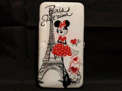 Minnie Mouse Paris Wallet  * New With Tag