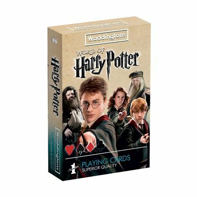 Harry Potter Waddingtons Number 1 Playing Cards