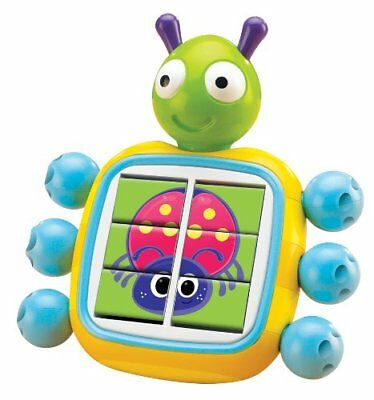 E71511 TOMY Puzzle Bug Picture Match Toy Baby Infant Toddler Age 12 Months +
