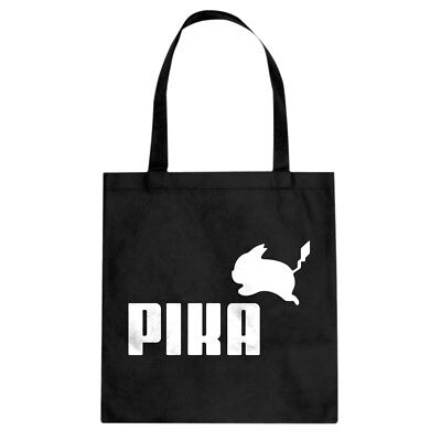 Tote Pika Puma Canvas Shopping Bag #3097