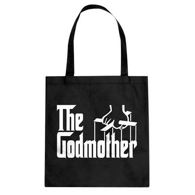 Tote The Godmother Canvas Shopping Bag #3078