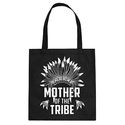 Tote Mother of the Tribe Cotton Canvas Tote Bag #3273