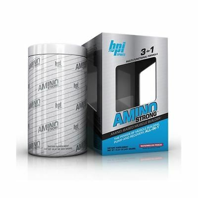 BPI Amino Strong 3-in-1 Amino  Based Muscle Builder 30 Servings Variety Flavors