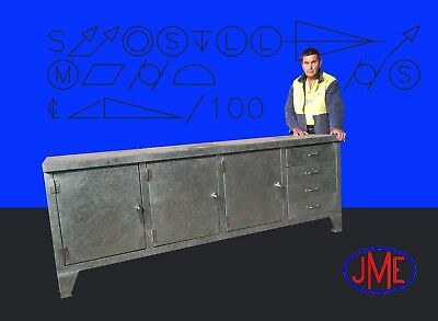 Work Bench Pro All Steel  with Lockup Storage