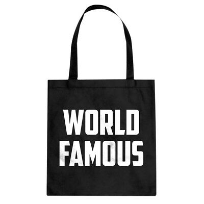 Tote World Famous Cotton Canvas Tote Bag #3415