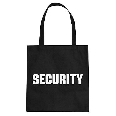 Tote Security Cotton Canvas Tote Bag #3135a