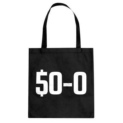 50-0 Undefeated Cotton Canvas Tote Bag #3436
