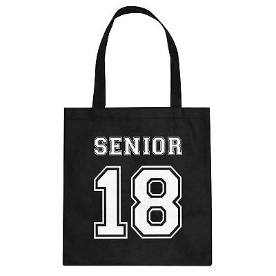 Tote Seniors 2018 Cotton Canvas Tote Bag #3426
