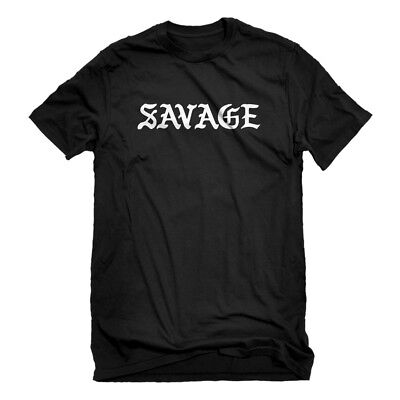 Mens Savage Short Sleeve T-shirt #3430