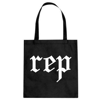 Tote Reputation Canvas Shopping Bag #3437