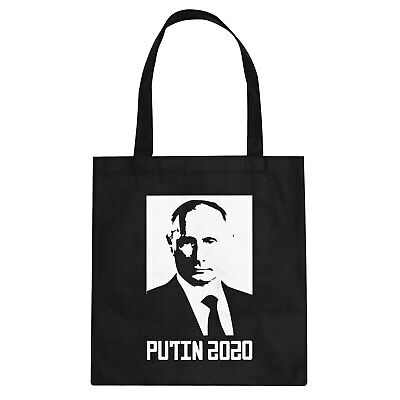 Tote Putin 2020 Cotton Canvas Tote Bag #3399