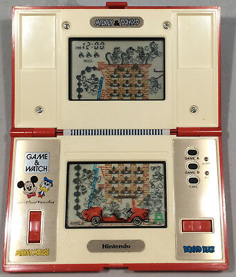 Nintendo Game And Watch  Mickey & Donald Multi Screen Game & Watch - Dm-53