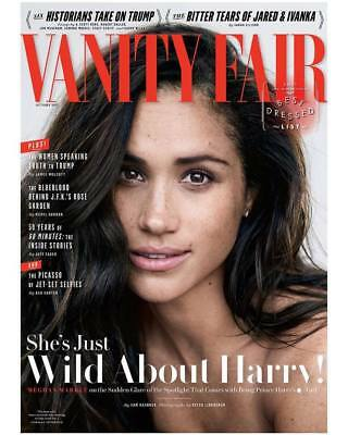 Vanity Fair Magazine October 2017 - Meghan Markle & Prince Harry