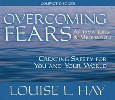 NEW Overcoming Fears By Louise L. Hay Audio CD Free Shipping