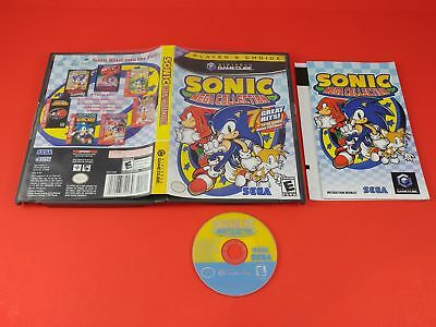 Sonic Mega Collection [CIB Complete in Box, Player's Choice] (Nintendo Gamecube)