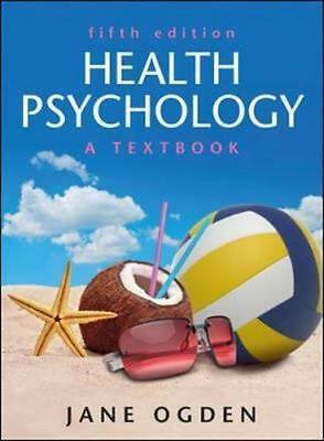NEW Health Psychology By Jane Ogden Paperback Free Shipping