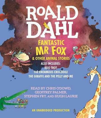 NEW Fantastic Mr. Fox & Other Animal Stories By Roald Dahl Audio CD
