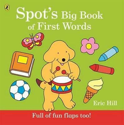 NEW Spot's Big Book of First Words By Eric Hill Board Book Free Shipping