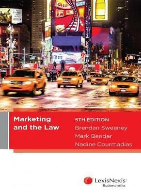 NEW Marketing and the Law, 5th edition By B Sweeney Paperback Free Shipping