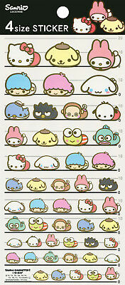 Sanrio Characters / Moni Moni Animals Stickers