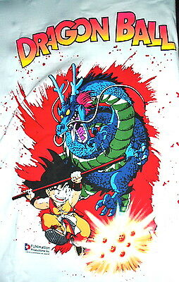 Dragonball Funimation 1986 Vintage Med T Shirt Anime Dead Stock Rare Cyberpunk