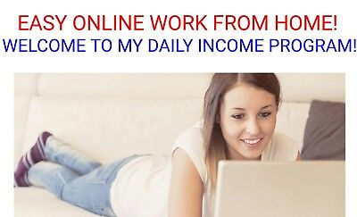 Easy Online Business Work From Home