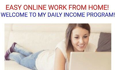 Easy Online Business Work From Home...   Copy And Paste  Work