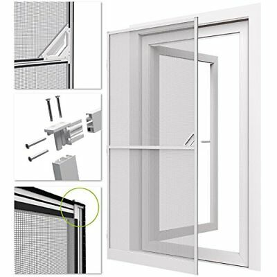 easylife Insect protection Door ALUMINUM 100x215cm white Fly screen