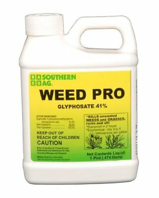 Southern Ag Weed Pro Glyphosate 41% Grass & Weed Killer, 16oz - 1 Pint