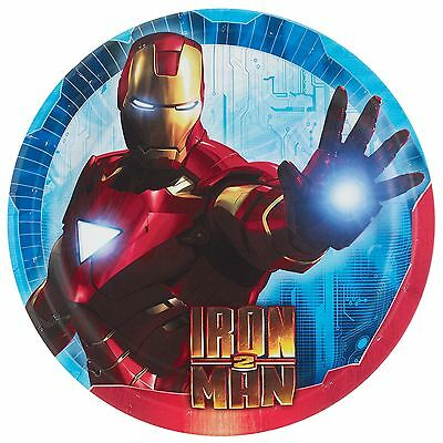 Set Of 12 Personalised Marvel Comics Iron Man Lolly Bags