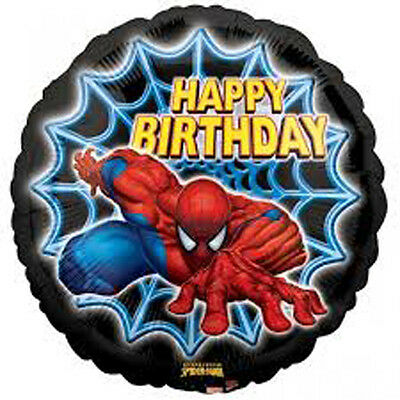 Set Of 12 Personalised Spiderman Birthday Lolly Bags