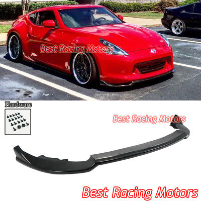 iG1 Style Front Bumper Lip (Urethane) Fits 09-12 Nissan 370z