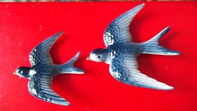Vintage Wall Swallows Pottery