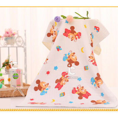 75*145cm Baby Blanket Bath Towel Washcloth Beach Shower Dry Wipe Cloth Feeding
