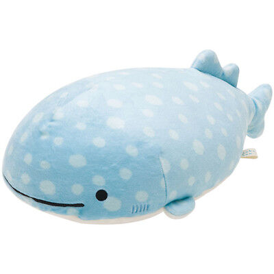 NWT San-X Jinbesan Jinbei Jinbee Whale Plush Toy Japan Kawaii + FREE Stickers